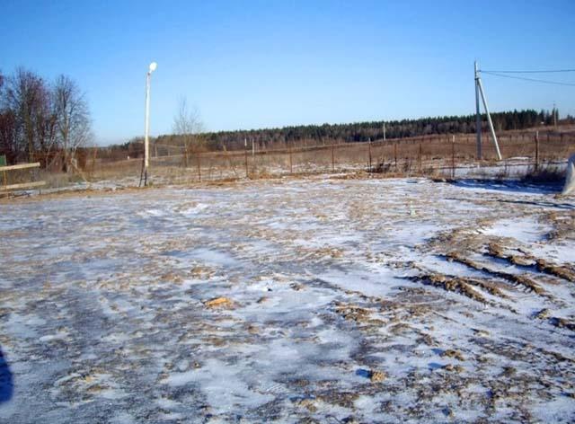 участок ижс в деревне в Одинцовском районе